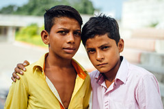 Angry Young Men (Mathijs Buijs) Tags: portrait angry boys men tough serious jain temple ranakpur rajasthan northern india asia canon eos 7d