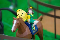 Fuchiko and Horse - Kyoto Racecourse (Ogiyoshisan) Tags: japan japanese    fuchiko subculture figure  hobby