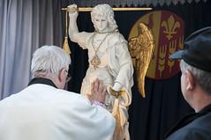 Peregrynacja Figury w. Michaa Archanioa010 (Sanktuarium w Krzeszowie) Tags: krzeszw grssau boogrobcy gargano archanio micha saint michael archangel