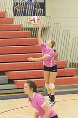 DJT_5431 (David J. Thomas) Tags: sports athletics volleyball women lyoncollege scots hendersonstateuniversity reddies batesville arkansas