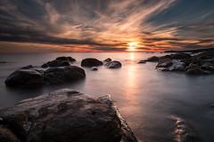(Massimiliano Totti) Tags: santa severa grottini mare nuvole fuji xt2 tramonto sunset sea