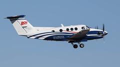 Beech F90 King Air N16WG (ChrisK48) Tags: 1985 90 aircraft airplane beechf90 beechcraft dvt kdvt kingair n16wg phoenixaz phoenixdeervalleyairport westernwingscorp lkhfarming