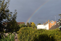 Rainbow Looking through our Bedroom Window (John Carson Essex) Tags: thegalaxy thegalaxystars rainbowofnature supersix