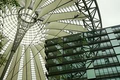 Sony Centre Berlin (edwin van buuringen) Tags: sony sonya7mii berlin reflection hdr dynamicphotohdr