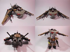 The Scrapbat (TheHunBear) Tags: lego moc mecha space spaceship exo force