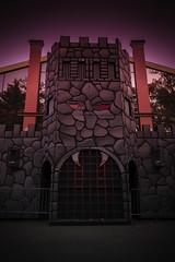 Villa of Vampires (kwtracyghostship) Tags: castle commonwealthpa foreboding creepy dark spooky pennsylvania westernpa pa kennywood2016 alleghenycounty phantomfrightnights kwtracyghostship westmifflin unitedstates us halloween scary amusementpark haunt