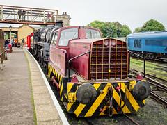 Sentinel Barabel (2) (Alan Rowley Photos) Tags: transport nenevalleyrailway rail class sentinel wansford hertfordshire unitedkingdom