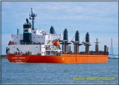 Global Wisdom 1610 LR (bradleybennett) Tags: cargo vessel ship shipping delta water river ocean tanker antioch port stockton global wisdom