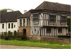 Middleton Hall (Audrey A Jackson) Tags: canon60d middletonhall staffordshire history refurbishment volunteers wondows fencing moat chimneys