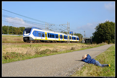 NSR-2415_Rvbr_22102016 (Dennis Koster) Tags: ns nsr trein personentrein passagierstrein abbenes slt 2415