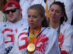 Hannah Cockroft (Suede Bicycle) Tags: olympics rio rioolympics rio2016 olympicgames heroeswelcome trafalgarsquare summerolympics olympicparade paralympics rioparalympics