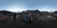 Annapurna Base Camp 360 (II), Annapurna Sanctuary @ Nepal (Sitoo) Tags: 360degree 360photography 360x180 abc amanecer annapurna annapurnabasecamp annapurnasouth campobaseannapurna equirectangular fisheye himalaya hugin machapuchare mountains nepal panorama sanctuaty sigma15mmf28 sunrise trek trekking vr