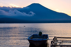 a place that has a good view of Mt. Fuji (kota-G) Tags: fuji japan  nikon   landscape lake
