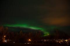 Last embers of the northern lights (Greg Kingston) Tags: ice lights lava waterfall iceland lagoon reykjavik northern