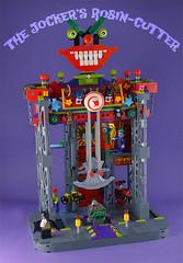 Evil contraption (captainsmog) Tags: robin dc comic lego clown machine superhero batman joker contraption blade moc