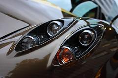 Huayra Eye (#Rtrphotography) Tags: eye car sport japan gold tokyo eyes super exotic turbo carbon amg v12 pagani huayra
