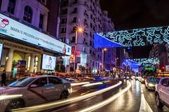 Gran Via (lvaro Garca Fuentes) Tags: madrid real navidad nikon via gran nocturnas palacio granvia 2014 alvarogarcia