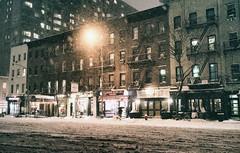New York City - Snowy Night in Midtown (Vivienne Gucwa) Tags: street nyc newyorkcity winter snow newyork night manhattan snowstorm urbanphotography newyorkatnight nycnight nycphoto nycwinter nycsnow citysnow newyorksnow cityphotography newyorkphoto newyorkcityphotography snowstormnewyorkcity viviennegucwa viviennegucwaphotography 2014nycsnow janus2014 janusmanhattan janussnow2014 nycjanus