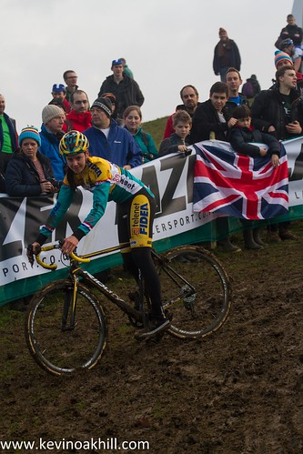 Nikki Harris Milton Keynes World Cup cyclocross