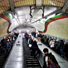 "#london #tube #leicestersq #piccadillyline • <a style=""font-size:0.8em;"" href=""http://www.flickr.com/photos/8364105@N02/15991331563/"" target=""_blank"">View on Flickr</a>"
