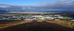 Lanzarote (denismartin) Tags: panorama cloud sun sunrise island lanzarote atlantic canaries castel islascanarias volcan canari volcanology teguise canaryisland houellebecq macaronesia denismartin