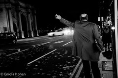 (Eniola Itohan) Tags: blackandwhite london december streetphotography 2014
