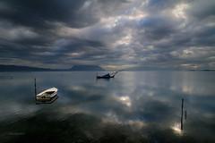 A new dawn (alexring) Tags: boats dawn nikon lagoon greece d300 ελλάδα ανατολή messologhi alexring βάρκεσ μεσολόγγι αλυκέσ διβάρια