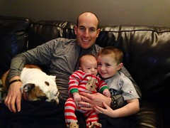 """Quality couch time. Watching Elf with the boys tonight. • <a style=""""font-size:0.8em;"""" href=""""http://www.flickr.com/photos/73758397@N07/16058256301/"""" target=""""_blank"""">View on Flickr</a>"""