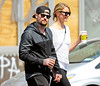 Cameron Diaz and Benji are happy