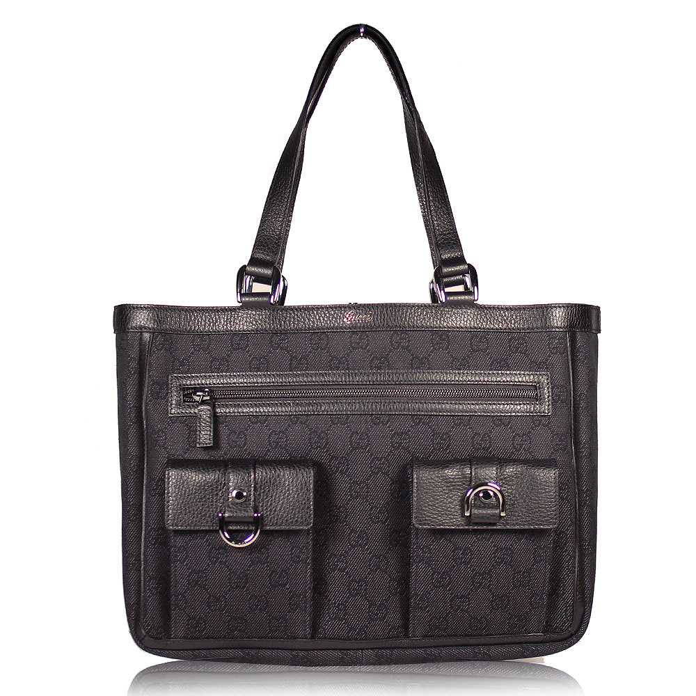 Gucci Handbag Abbey Tote Double-Handle Shopping Bag (GG1803) (s kenwald1)  Tags e0332bcf55