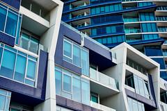 Docklands Sunrise Photoshoot || Melbourne, Australia (mcdraycott) Tags: city urban building architecture living purple australia melbourne inner docklands