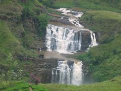 Rushing Water near Adam's Peak
