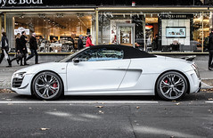 One of 333 (LuxurySpottings) Tags: germany spyder kudamm gt audi r8 kurfrstendamm