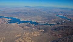 Aerial view, Colorado River (joybidge) Tags: grandcanyon aerialview coloradoriver nevadaarizonaborder naturepatternscanada trishcanada