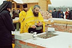 97. Закладка большого Всехсвятского храма 2004 г
