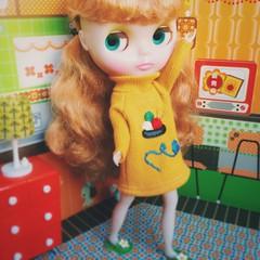#Good #Morning 🌻🌻🌻 #love #juniemooniecutie #blythe #doll #ブライス #happy #retro #colors