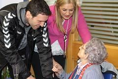 Visita a Inés Armentia