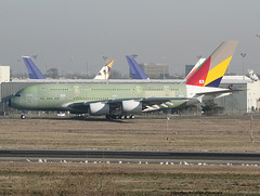Asiana Airlines (Jacques PANAS) Tags: airbus airlines hl asiana a380841 f