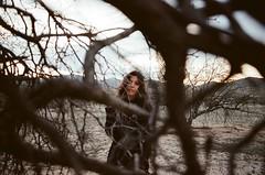 Dances in Phoenix (Matthew Willcocks) Tags: portrait film phoenix girl 35mm desert pentax k1000