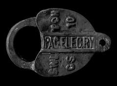 Tools, 2003 (matt-artz) Tags: blackandwhite bw stilllife lock tools padlock tool pacificelectricrailway