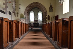 Central Passageway (CoasterMadMatt) Tags: uk greatbritain winter david church saint st wales rural de religious countryside nikon worship village unitedkingdom britain interior south religion c