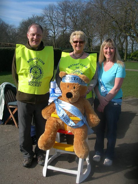 10,000 Steps Challenge for Prostate Cancer - Barnsley Rockley Rotary Club - Locke Park Barnsley Yorkshire