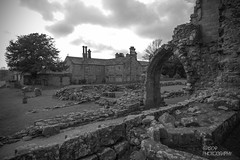 Abbey Ruins & House (Ashey1209) Tags: old trees church abbey landscape ruins yorkshire scenary bolton priory skipton