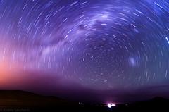 Startrail - Atacama (Andrs Snchez G.) Tags: chile longexposure night photoshop photography star noche nikon nightscape tokina caldera cielo atacama estrellas nocturna desierto estrella 116 lightroom copiapo milkyway startrail largaexposicion vialactea d7000 tokina1116
