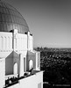 Griffith Observatory in B&W (charlestheneedler) Tags: jeff julian josie griffithobservatory chalres laskyline hollywoodsigh