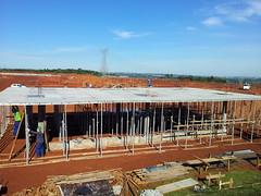 Santa Rita Comercio e Instalações Ltda Substação Itaipu, Foz do Iguaçu, PR Topec Obra de Infraestrutura