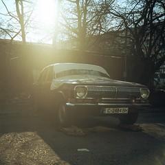 Volga (W140) Tags: auto classic cars abandoned 6x6 film car analog photo classiccar vintagecar sofia seagull ishootfilm oldtimer fujifilm superia400 classiccars volga vintagecars ussr 120mm vintageauto carporn filmisnotdead seagull4b   sofiacity carlook autokings abandonedinsofia
