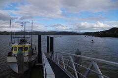 KohuKohu 3 (Markj9035) Tags: sunset sea newzealand lake ferry coast lakes windswept coastline northland ahipara northlands oponomi
