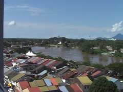 The Rooftops of Kuching