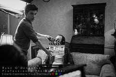 Hit Me Unit Stills (Ryan O'Donoghue) Tags: red film canon movie fun gun artist dragon makeup scene crew short acting actor production behind director behindthescenes stills shortfilm beretta reddragon hitman moviemaking canon6d crewphotography jackintheboxproductions